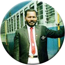 A Chief Traveling Ticket inspector of South Indian Railway.